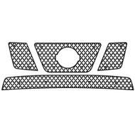 Grille Insert Guard Mesh Punch Black Powdercoat fits: 2005-2008 Nissan Frontier