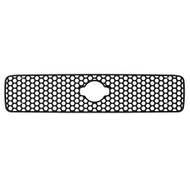 Grille Insert Guard Circle Punch Black Powdercoat fits: 1999-2001 Nissan Pathfinder