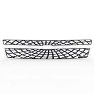 Grille Insert Guard Spiderweb Black Powdercoat fits: 2007-2014 Chevy Suburban