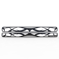 Grille Insert Guard Tribal Black Powdercoat fits: 1998-2004 Chevy Blazer