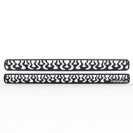 Grille Insert Guard Vertical Flame Black Powdercoat fits: 1998-2004 Chevy Blazer