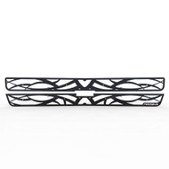 Grille Insert Guard Tribal Black Powdercoat fits: 2000-2006 Chevy Tahoe