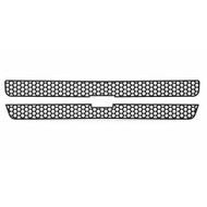 Grille Insert Guard Circle Punch Black Powdercoat fits: 2000-2006 Chevy Suburban