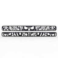 Grille Insert Guard Antler Hunting Black Powdercoat fits: 1998-2004 Chevy Blazer