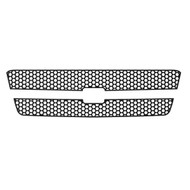 Grille Insert Guard Circle Punch Black Powdercoat fits: 2003-2005 Chevy Silverado LD