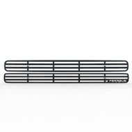 Grille Insert Guard Horizontal Billet Black Powdercoat fits: 1998-2004 Chevy S10