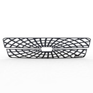 Grille Insert Guard Spiderweb Black Powdercoat fits: 2003-2004 Chevy Silverado HD
