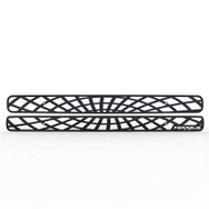 Grille Insert Guard Spiderweb Black Powdercoat fits: 1998-2004 Chevy S10