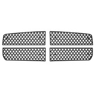 Grille Insert Guard Mesh Punch Black Powdercoat fits: 2005-2007 Dodge Dakota