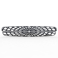 Grille Insert Guard Spiderweb Black Powdercoat fits: 1997-2003 Dodge Durango