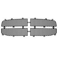 Grille Insert Guard Circle Punch Black Powdercoat fits: 2006-2009 Dodge Ram 3500