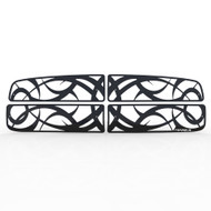 Grille Insert Guard Tribal Black Powdercoat fits: 2003-2005 Dodge Ram 3500