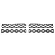 Grille Insert Guard Mesh Punch Black Powdercoat fits: 1994-2002 Dodge Ram 3500
