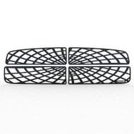 Grille Insert Guard Spiderweb Black Powdercoat fits: 2003-2005 Dodge Ram 3500