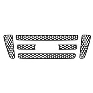 Grille Insert Guard Circle Punch Black Powdercoat fits: 2004-2008 Ford F-150