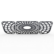 Grille Insert Guard Spiderweb Black Powdercoat fits: 1998-2000 Ford Ranger 4WD