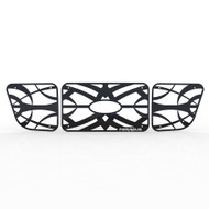 Grille Insert Guard Tribal Black Powdercoat fits: 1998-2000 Ford Ranger 4WD