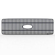 Grille Insert Guard Vertical Billet Black Powdercoat fits: 1999-2004 Ford Superduty