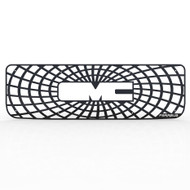 Grille Insert Guard Spiderweb Black Powdercoat fits: 1994-1998 GMC K3500
