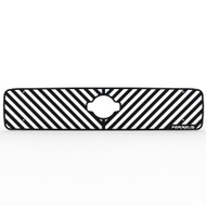 Grille Insert Guard Vertical Billet Black Powdercoat fits: 1999-2001 Nissan Pathfinder