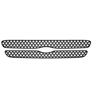Grille Insert Guard Mesh Punch Black Powdercoat fits: 1998-2000 Ford Ranger