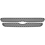 Grille Insert Guard Circle Punch Black Powdercoat fits: 1998-2000 Ford Ranger