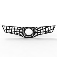 Grille Insert Guard Spiderweb Black Powdercoat fits: 2007-2009 Nissan Altima Sedan