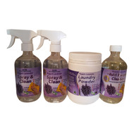 Lavender Spray & Clean Double Pack