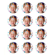 """Edible Image Print-Ons Frosting Sheets 2"""" Rounds"""