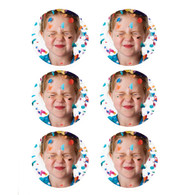 """Edible Image Print-Ons Frosting Sheets 3"""" Rounds"""