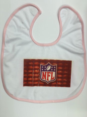 2-Pack White Baby Bibs, Empty, Pre-coated and Ready for Sublimation