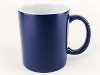 3-Piece Blue Color Changing Coffee Mugs, Blank, Pre-coated and Ready for Sublimation