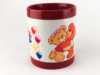 2-Piece Red Luminous Coffee Mugs, Pre-coated and Ready for Sublimation