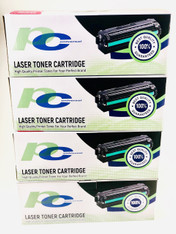 4 PCS 201X (CF400X) Toner Cartridge Combo SET for HP LaserJet M277dw, M252dw Printers
