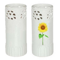 Set of 2 Personalized Ceramic Vase ready for sublimation