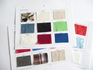 Fabric Swatches for Data Entry Guidebook