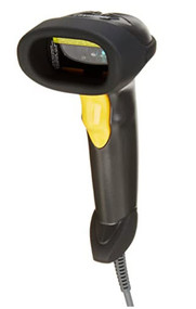 Wired barcode scanner with 5' cord.