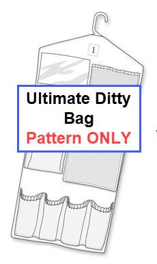 The Ultimate Ditty Bag Pattern and Instructions