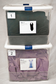 """4""""x 6"""" Pockets with inventory card."""