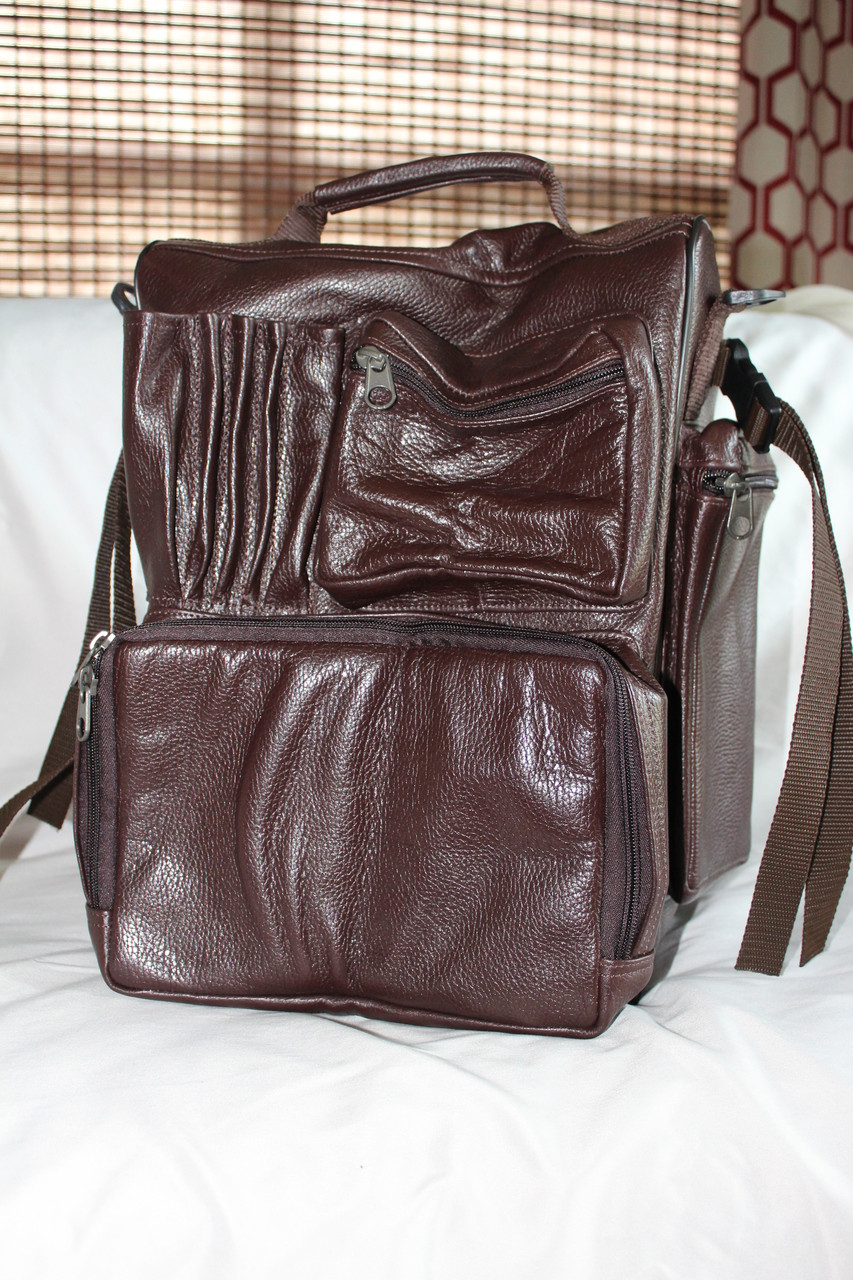 9e6fbb8d8be5 RV Flight Bag - Leather (Special Order) - Mission Bags