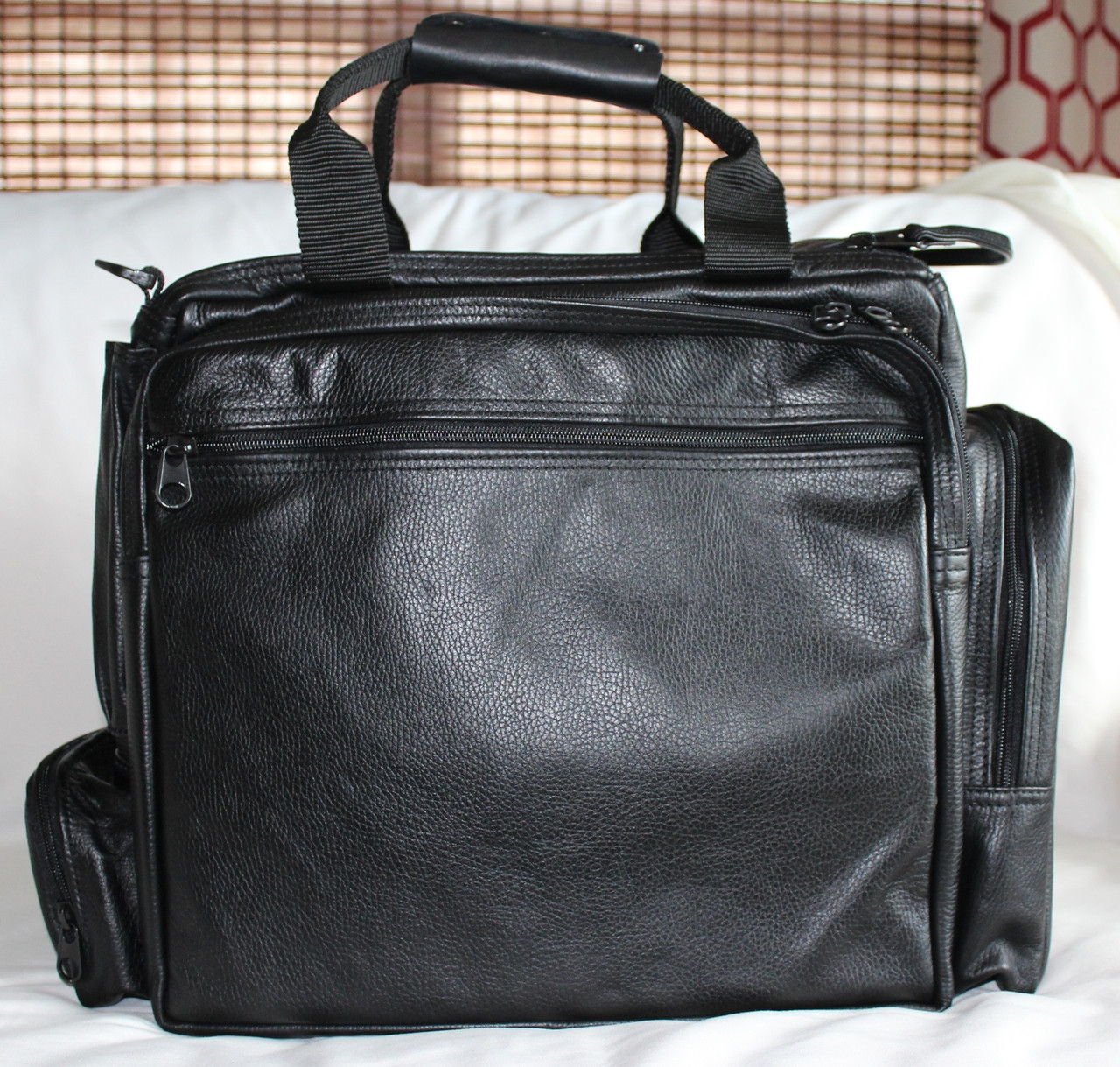 92acab4a16c9 Ultimate Flight Bag - Leather (Special Order) - Mission Bags