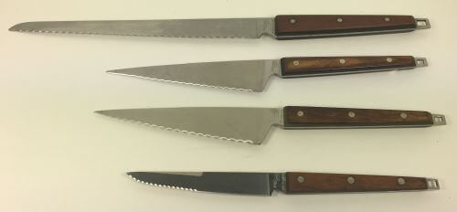 Vintage Knife Knives Serrated Edge Blade Bread Sandwich Steak
