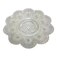 Vintage Scalloped Edge Appetizer Plates
