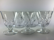 Baccarat Beauchene Short Stem Crystal Wine Glass Set of 6