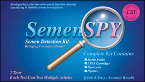 Catch a Cheater with the SemenSpy Infidelity Detection Kit