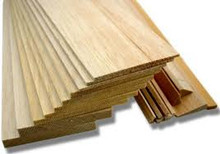 9.5MM 100X1220MM PREMIUM GRADE BALSA SHEET