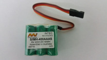 INTEC RECHARGEABLE BATT 4.8V 400MAH