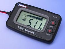VOLTS MONITOR  DC 3.7-20V LCD VOLTMETER