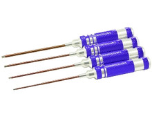 Arrowmax 110991 Allen Driver / Wrench SET METRIC SIZES 4 PCS 1.5,2.0,2.5,3.0x120MM