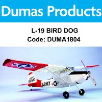 DUMAS 1804 40 INCH L-19 BIRD DOG R/C ELECTRIC POWERED
